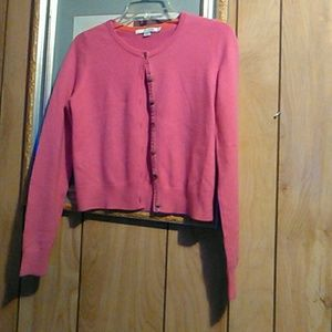 Boden cashmere button down sweater